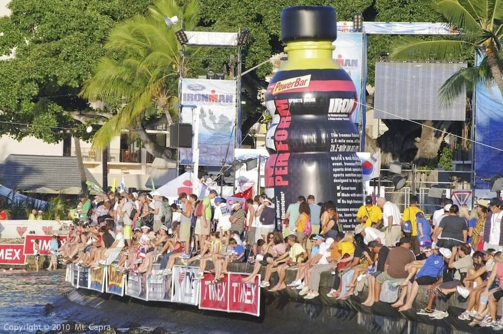 Ironman World Championship - Large Crowd