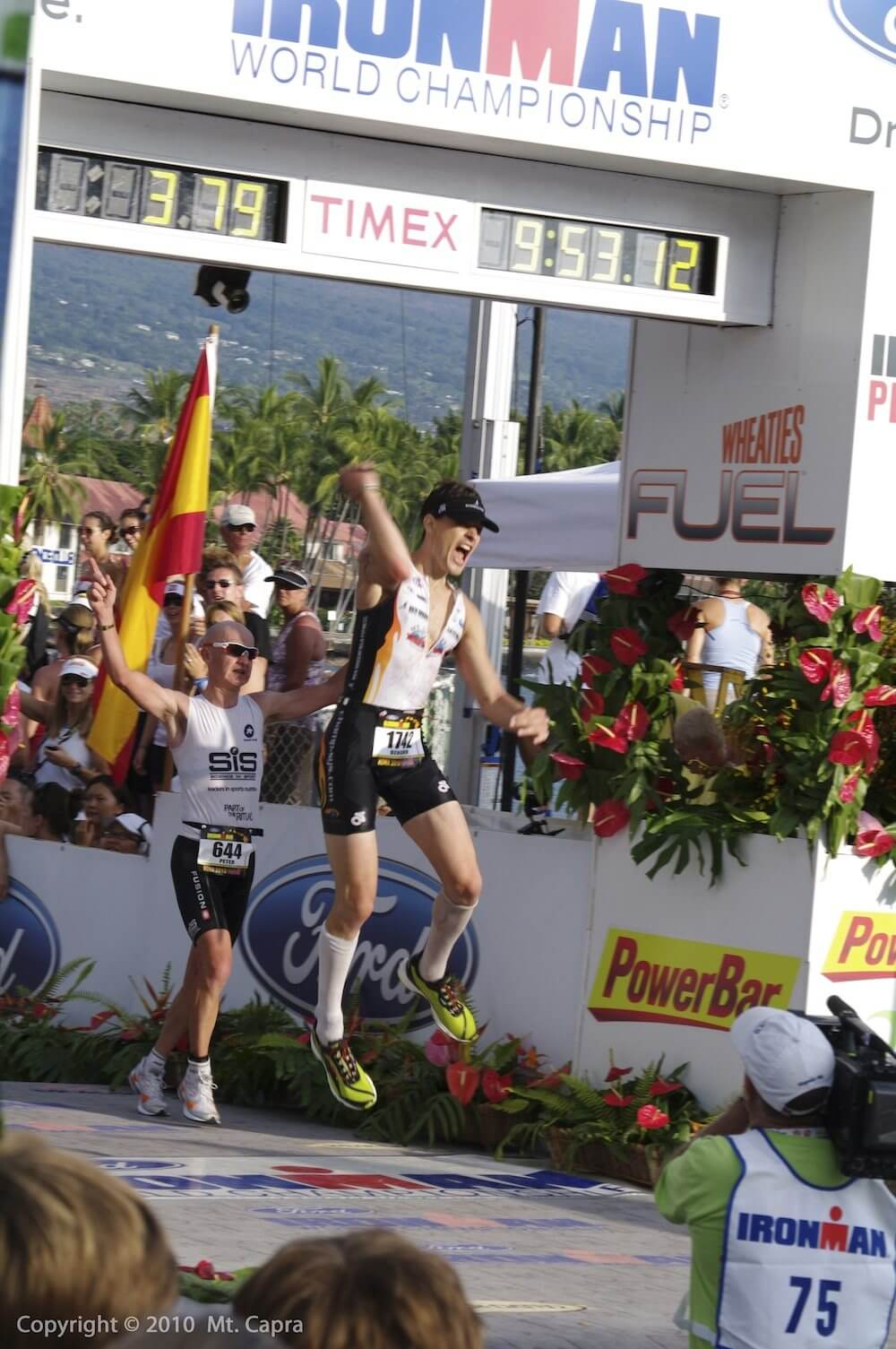 Kona, Hawaii - Ironman World Championship - Finish Line