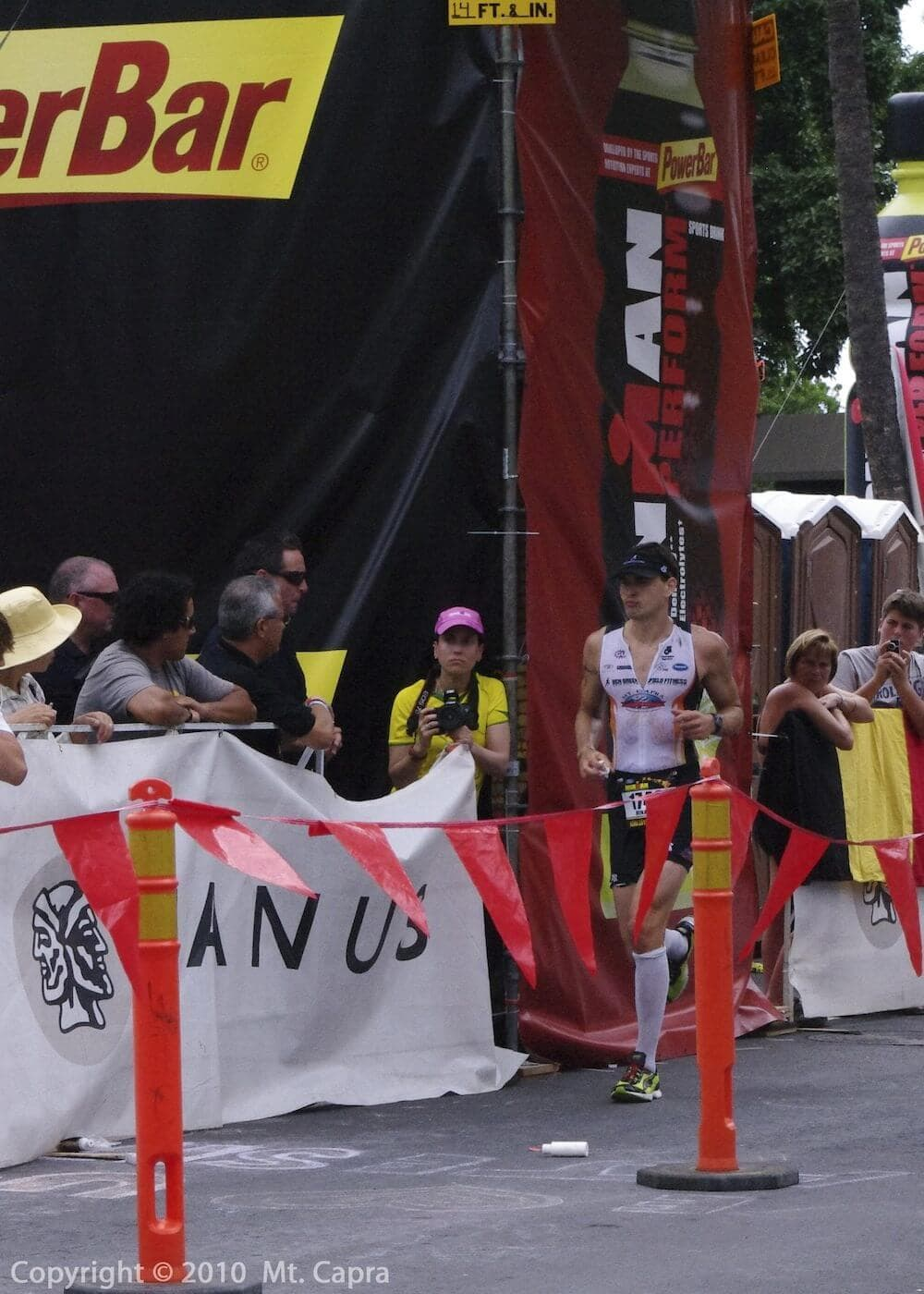 Kona, Hawaii - Ironman World Championship - 1st leg of Marathon