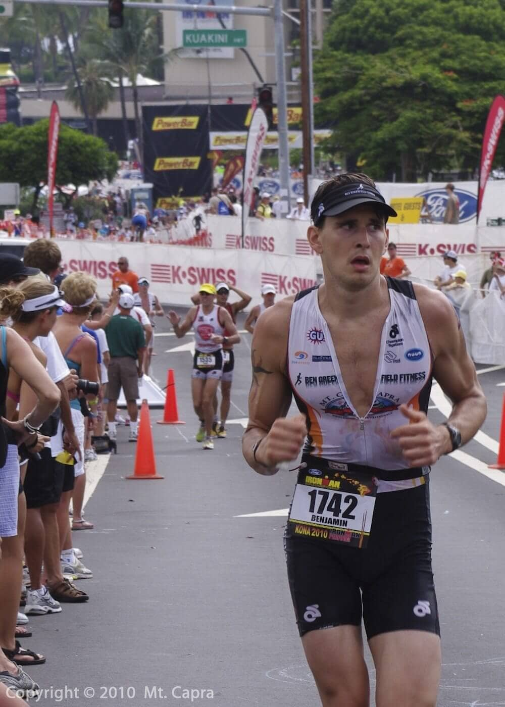 Kona, Hawaii - Ironman World Championship - 3rd leg of Marathon