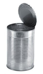Canned Vegetables are a food high in sodium