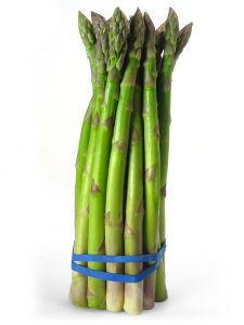 Fresh Asparagus has a high ORAC rating