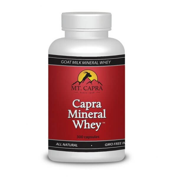 Capra Mineral Whey - Alkalizing Minerals and Electrolytes