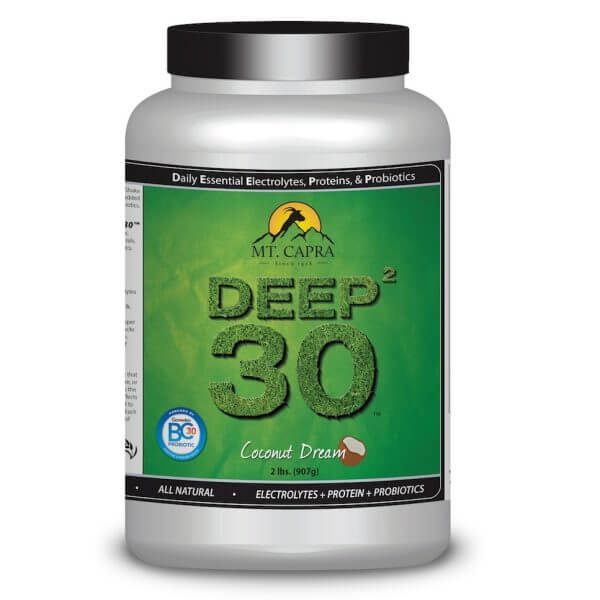 DEEP-2-30 - Daily Essential Electrolytes Protein Probiotics - Coconut Dream 2 pounds