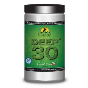 DEEP-2-30 - Daily Essential Electrolytes Protein Probiotics - Coconut Dream 1 pound