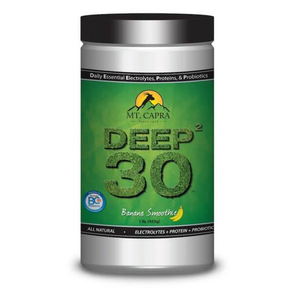DEEP-2-30 - Daily Essential Electrolytes Protein Probiotics - Banana Smoothie 1 pound