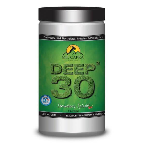 DEEP-2-30 - Daily Essential Electrolytes Protein Probiotics - Strawberry Splash 1 pound