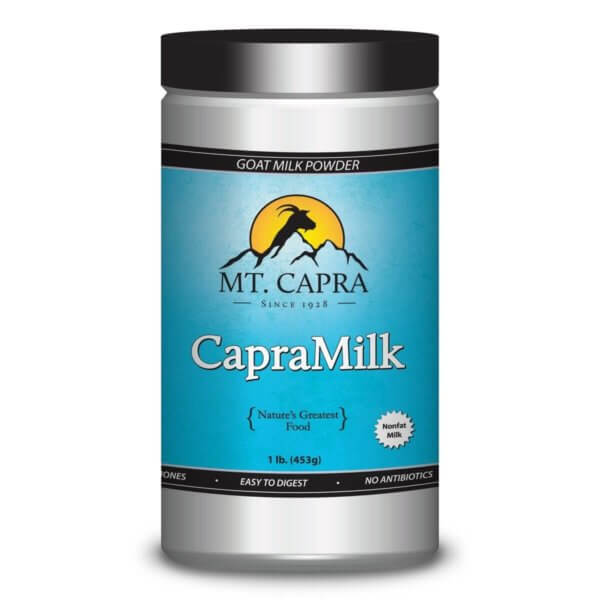 CapraMilk - All natural premium nonfat goat milk powder