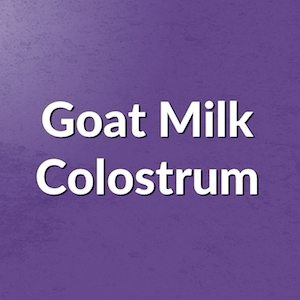 Capra Colostrum - Goat Milk Colostrum