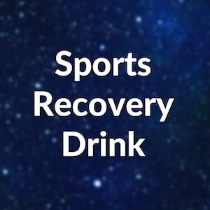 Potent Sports Recovery Drink super food
