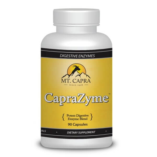 Caprazyme - Vegetarian potent non-gmo enzyme supplement