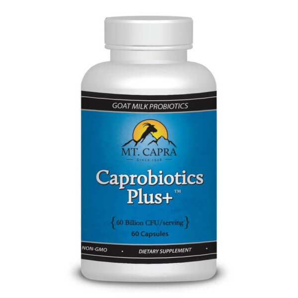 Caprobiotics Plus - A Powerful Goat Milk Probiotic - 60 capsules 1 month supply
