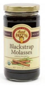 blackstrap molasses for homemade infant formula