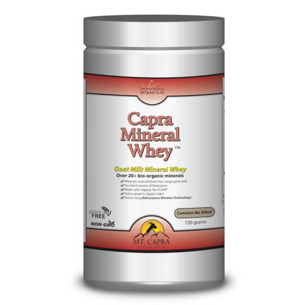 Capra Mineral Whey Pro - Alkalizing Minerals and Electrolytes from goat milk