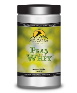 Peas and Whey - Pea Protein and Goat Whey Blend