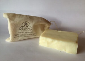 Coconut Lemongrass Goat Milk Heavy Cream Soap