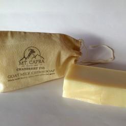 Cranberry Fig Goat Milk Heavy Cream Soap