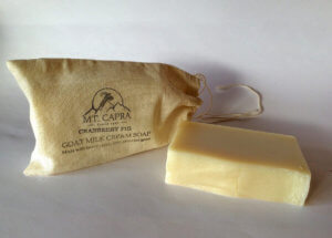 Cranberry Fig Goat Milk Heavy Cream Soap
