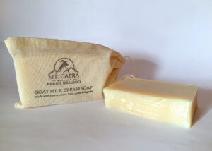Fresh Bamboo Goat Milk Heavy Cream Soap