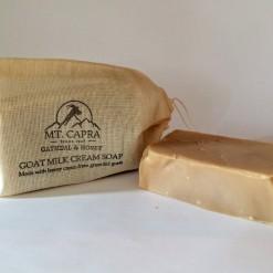 Oatmeal and Honey Goat Milk Heavy Cream Soap