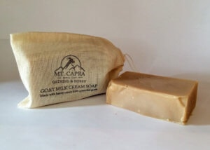 Oatmeal and Honey Goat Milk Heavy Cream Soap