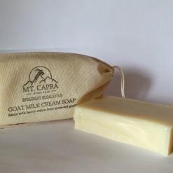 Spearmint Eucalyptus Goat Milk Heavy Cream Soap