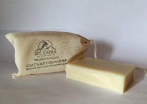 Spearmint Eucalyptus Goat Milk Heavy Cream Soap