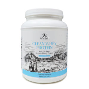 Clean Goat Whey Protein 1 pound unsweetened