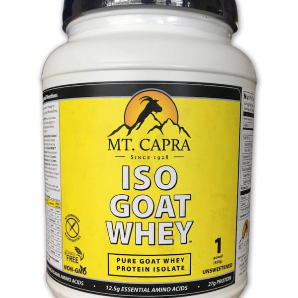 goat whey protein isolate concentrate pasture fed grass fed