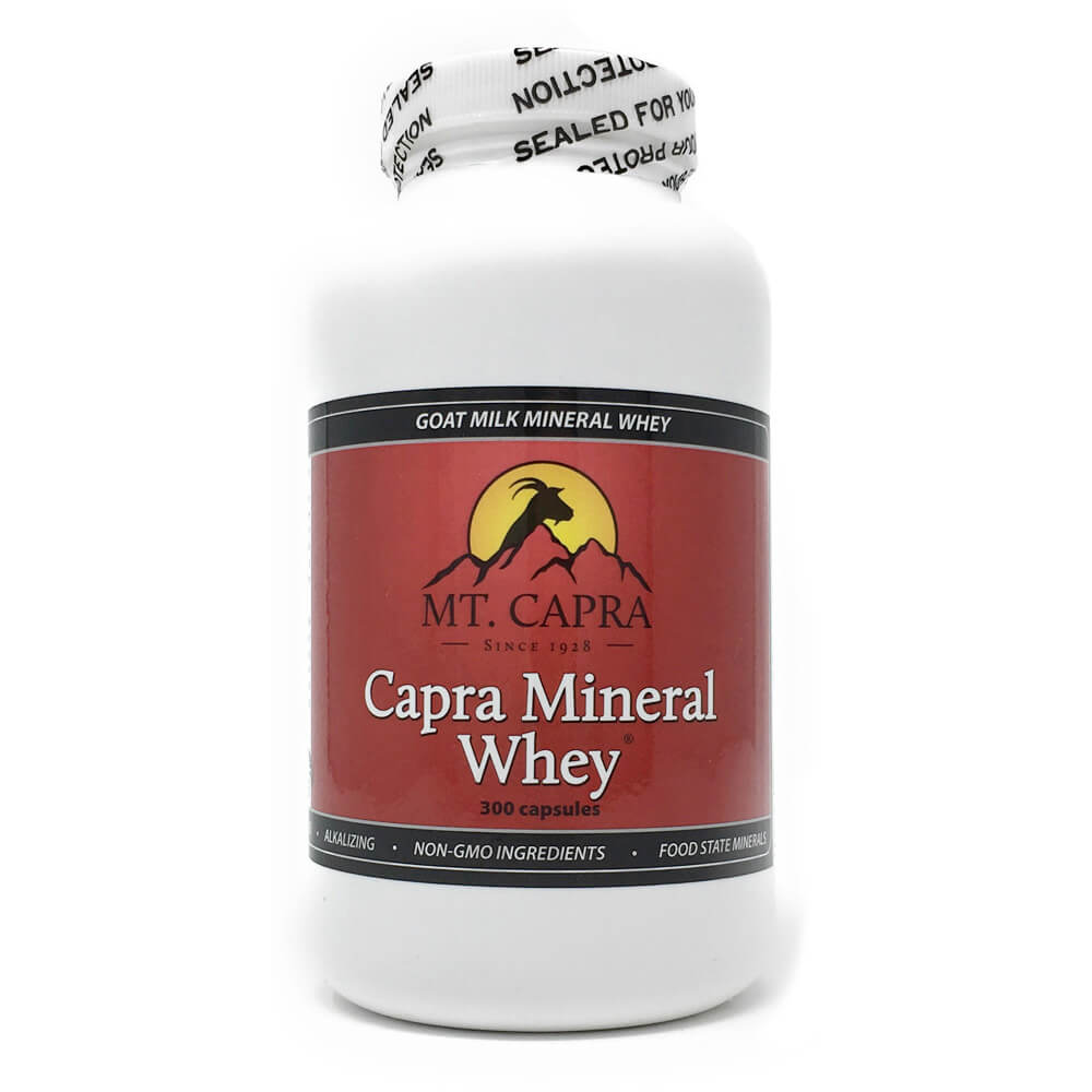 Capra Mineral Whey - Mineral/Electrolyte Replacement