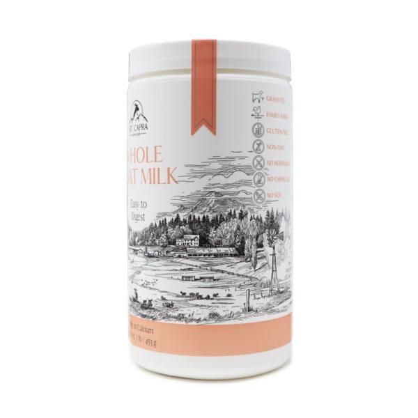 Whole Goat Milk Powder Bottle