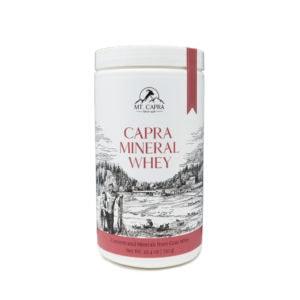 Capra Mineral Whey Bottle
