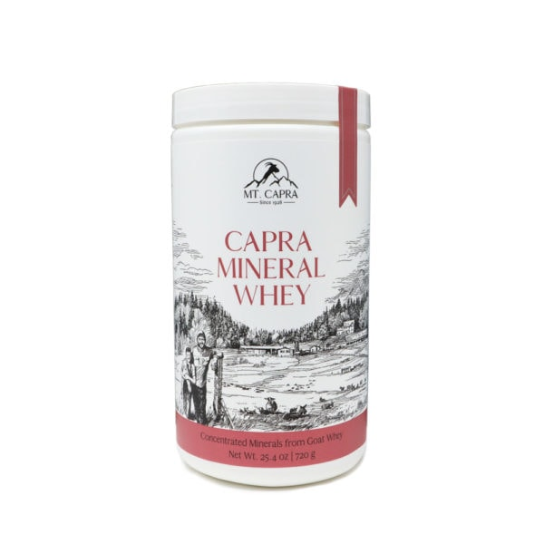 Capra Mineral Whey Bottle