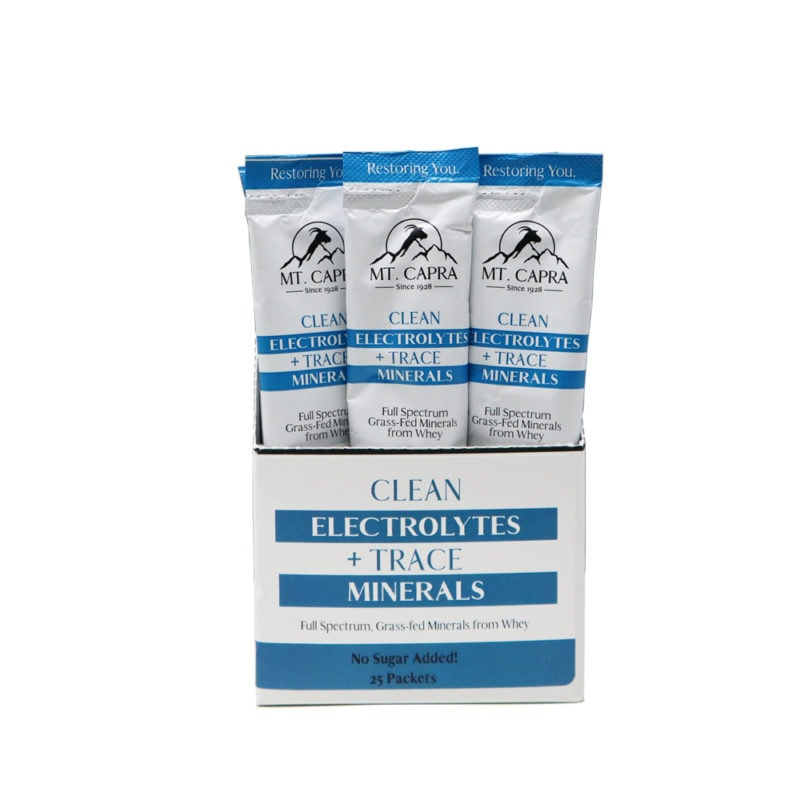 Clean Electrolytes and Trace MInerals
