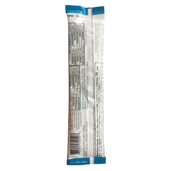 Clean Electrolytes Packet Nutrition